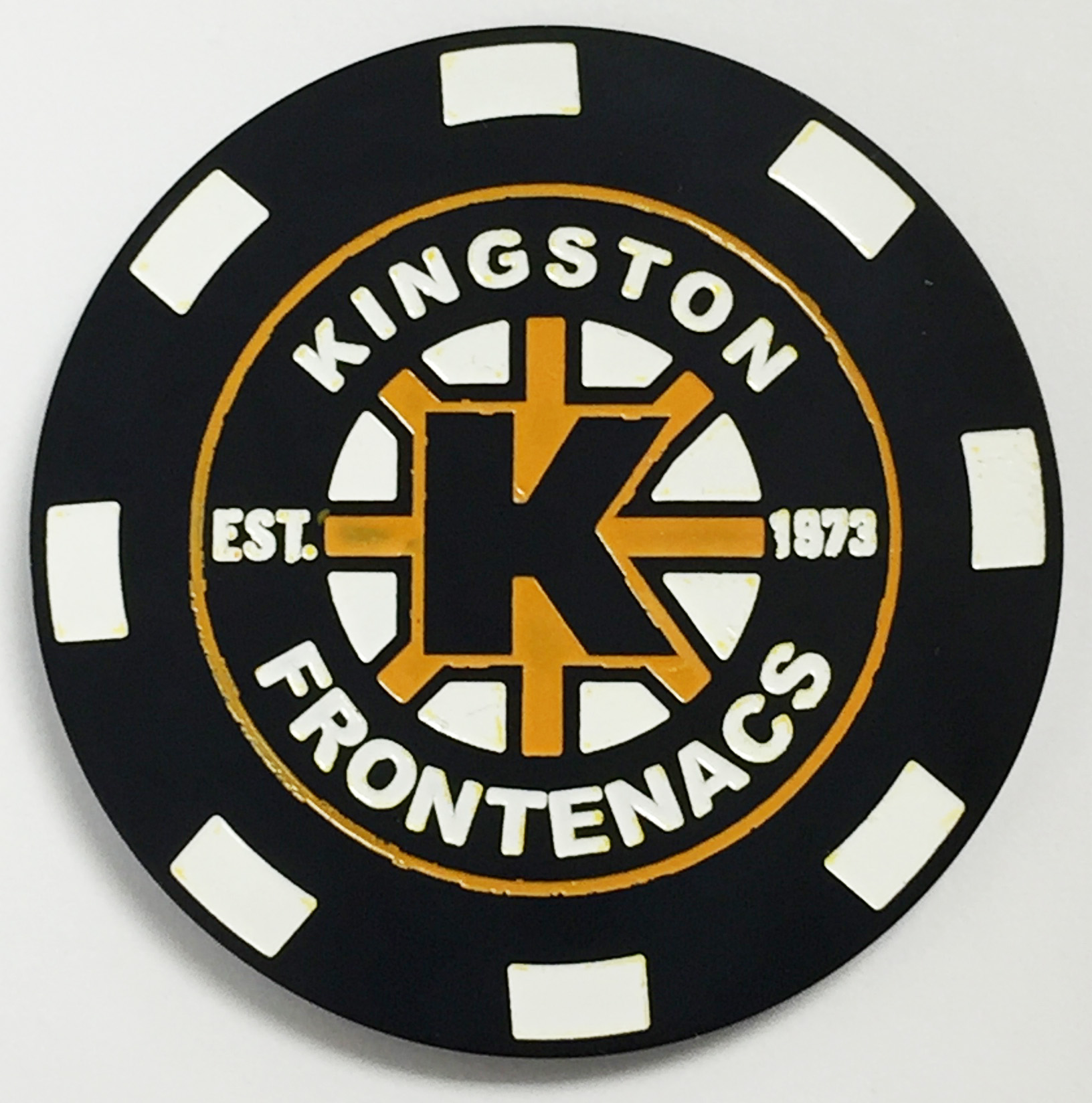 FRONTENACS POKER CHIP